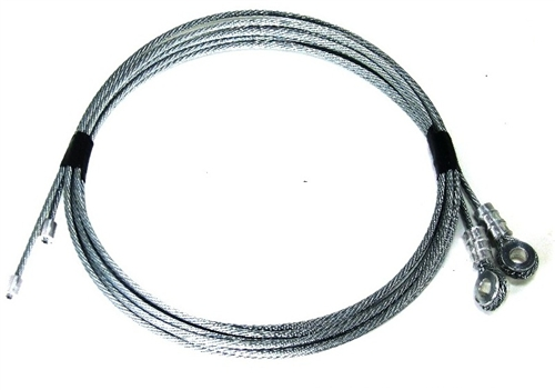 Todco Style Box Truck Roll Up Door Cables Galvanized
