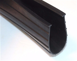 "6"" Garage Door Bottom Weatherstrip (1/4"" 'T' Style)"