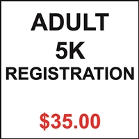 Adult 5K Registration