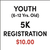Youth (6-12 yrs. old) Registration