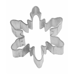 "Snowflake 2.25"" Tinplated Steel Cookie Cutter"