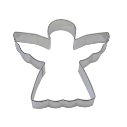 "Angel 4"" Tinplated Steel Cookie Cutter"