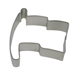 "Flag 3.25"" Tinplated Steel Cookie Cutter"