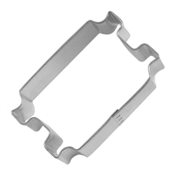 "Torah 3.25"" Tinplated Steel Cookie Cutter"