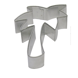 "Palm Tree 3.5"" Tinplated Steel Cookie Cutter"