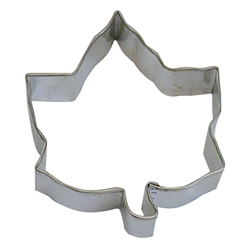 "Ivy Leaf 4"" Tinplated Steel Cookie Cutter"