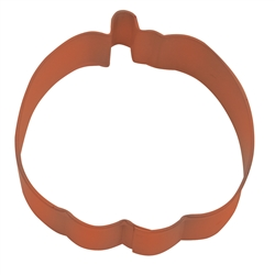 "Trick or Treat Pumpkin 3"" Polyresin Coated Cookie Cutter Orange"