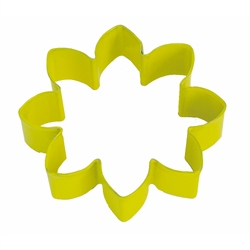 "Daisy 3.5"" Polyresin Coated Cookie Cutter Yellow"