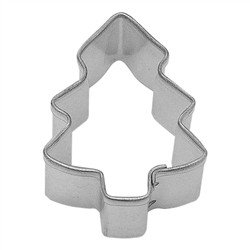 Mini Christmas Tree Tinplated Steel Cookie Cutter