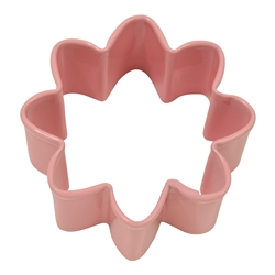 Mini Daisy Polyresin Coated Cookie Cutter Pink