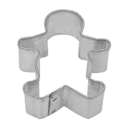 Mini Gingerbread Boy Tinplated Steel Cookie Cutter
