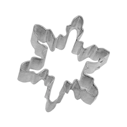 Mini Snowflake Tinplated Steel Cookie Cutter #1