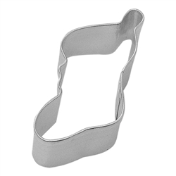 Mini Christmas Stocking Tinplated Steel Cookie Cutter