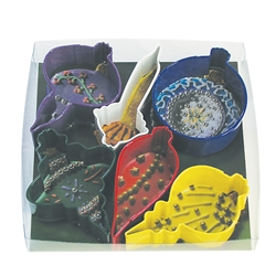 Ornament Colorful 6 Piece Cookie Cutter Set
