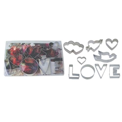 Love Cookie Cutter 9 Piece Set