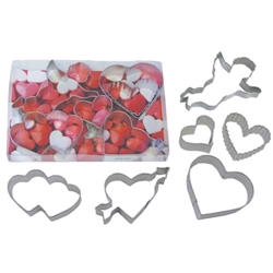 Valentine Cookie Cutter 6 Piece Set