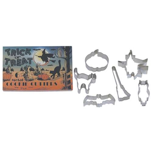 Trick Or Treat Cookie Cutter 6 Piece Set