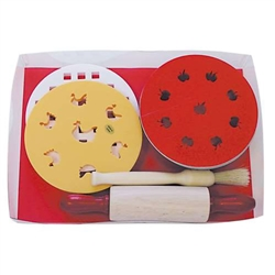 Individual Pie Baking Set with Assorted Toppers