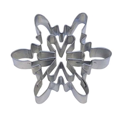 "Snowflake 3"" Cookie Cutter With Cut Out"