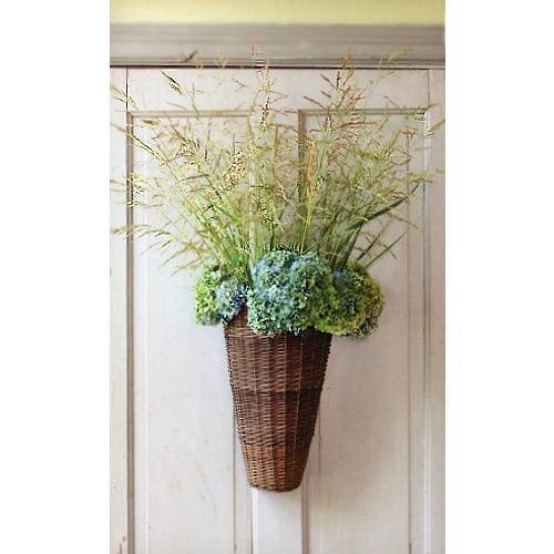 Wonderful Willow Door Basket