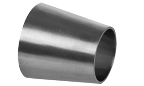 Weld end sanitary concentric reducer stainless steel