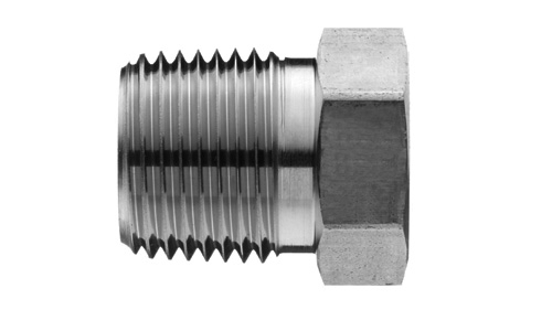 Npt pipe reducer bushing ss stainless steel fittings