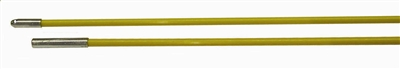Fiberfish 1/4 Inch Replacement Rod - 3 Foot Bullnose / Female