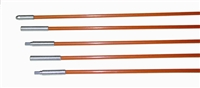 Fiberfish II 3/16 Inch Diameter, 3 Foot Orange Rod Kit