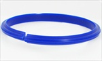 Nylon Creasing Rib 35mm to 40mm Blue