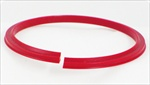 Nylon Creasing Rib 1.25 or 20mm Red