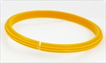 Nylon Creasing Rib 35mm to 40mm Yellow