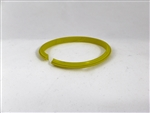 M-122-SX - Yellow Fast Fit Creasing Rib - No Lugs - for Roto Crease and Dick Moll
