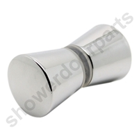 Handle-Conical-Chrome-Plastic SDR-063