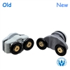 Two Replacement Shower Door Rollers-SDR-IMA-4DU