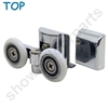 Two Replacement Shower Door Rollers-SDR-M8-T