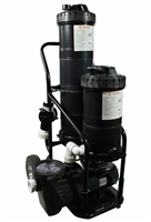 Portable Dual Pond Filter Vacuum