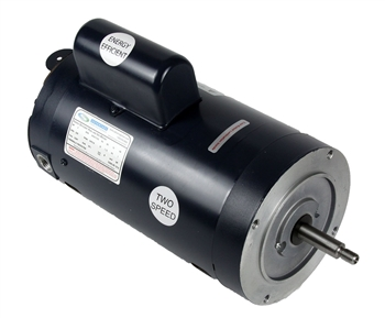 2 HP Threaded Shaft Two Speed, 230 volt