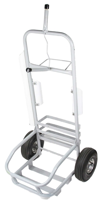 White Service Cart
