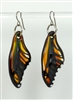 Psychedelic Butterfly Wing Earrings