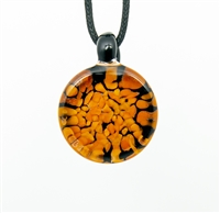 Orange Pebble Pendant