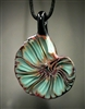 Earthy Ammonite Pendant