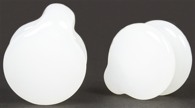 Jade White Coin Weights