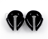 Large Black Keyhole Weights
