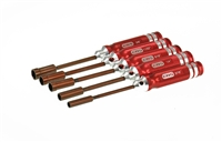 NUT DRIVER SET - US SIZES 5 PCS.