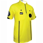 Yellow Short Sleeve Pro OSI Ref Shirt