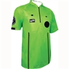 Green Short Sleeve Pro OSI Ref Shirt
