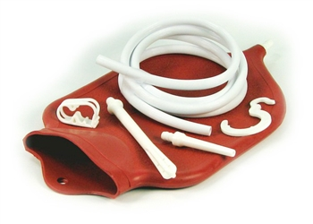Fountain Style Enema Bag Kit