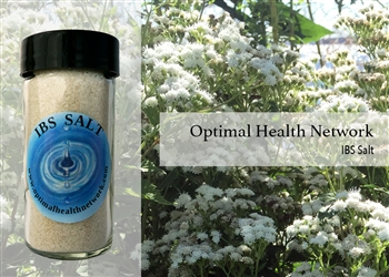 IBS blend contains Therapeutic Grade Basil, Lavender, Cypress, Marjoram, Peppermint