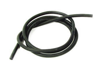 Enema Hose 6 feet Latex 5/16 inch - Black