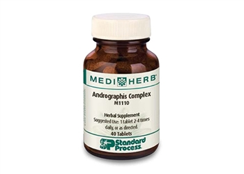Standard Process MediHerb Andrographis Complex - 40 tablets